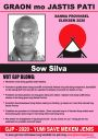 SOW SILVA poster